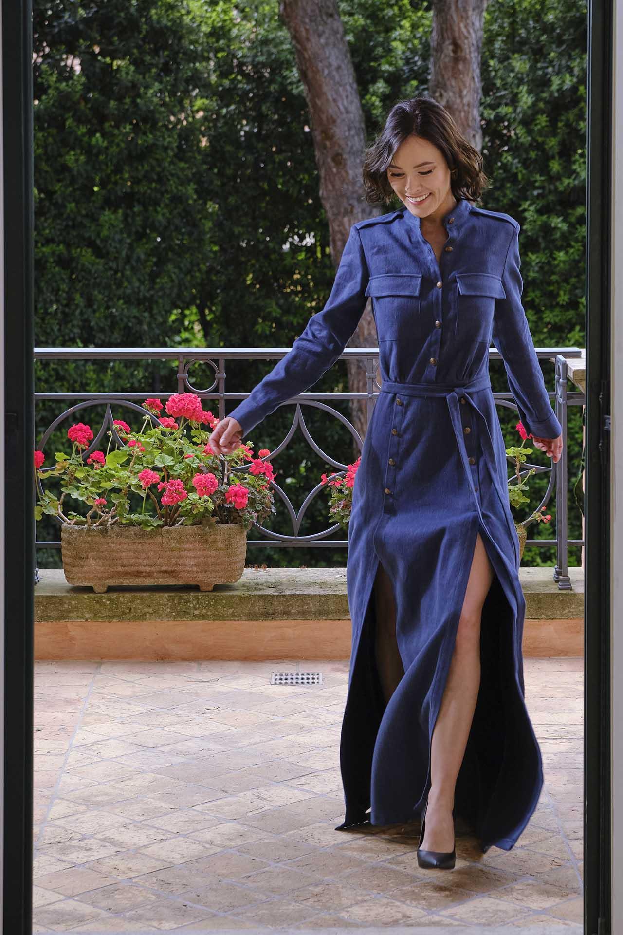 Trame Di Stile abbigliamento donna in canapa, in ortica e cotone organico.